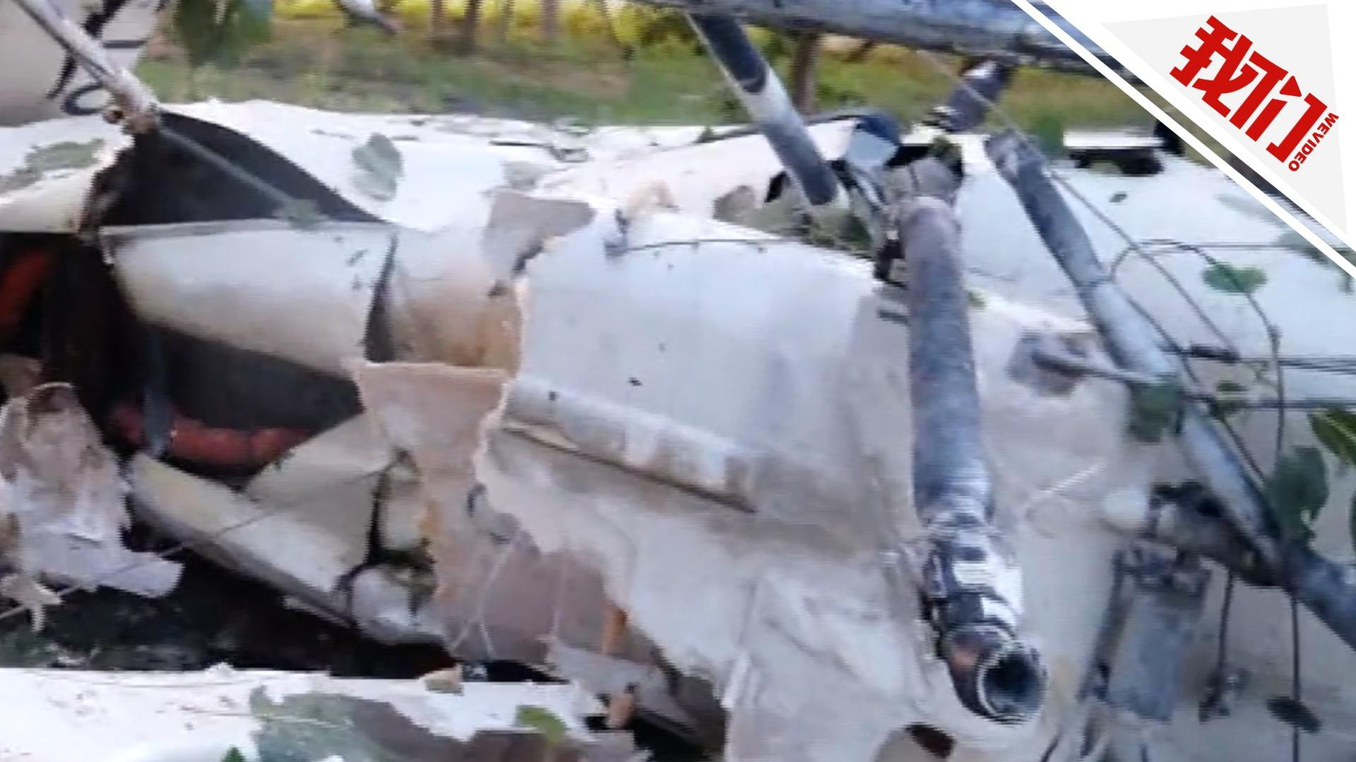 [热门]江苏宿迁一直升机坠落飞行员身亡 飞机残骸散落数十米范